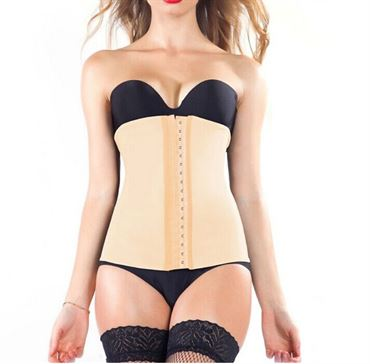 N/A Waist trainer cincher latex beige / skin color fl. str. fra fashiongirl