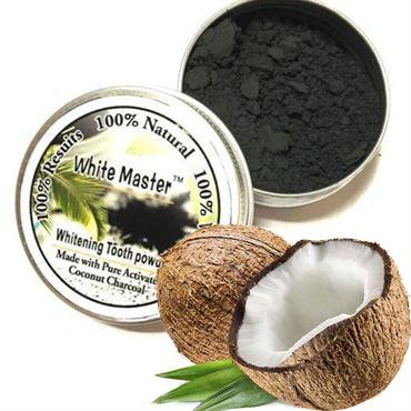 Whitening master® coco coal teeth whitening - sort tandpasta med aktivt kul (30 g) fra N/A fra fashiongirl